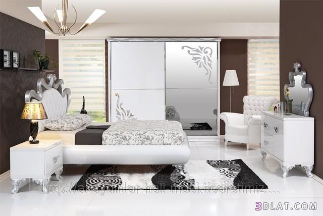 : اجمل الغرف النوم التركية : غرف
