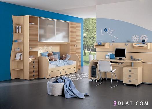 غرف اطفال خشب ، ديكورات غرف اطفال من خشب ، غرف نوم اطفال خشبية