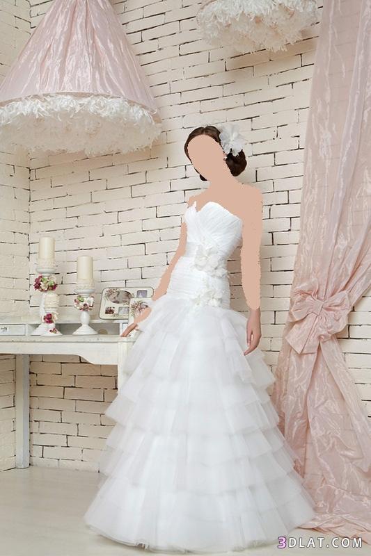 فساتين زفاف رقيقه وأنيقة لاحلي عروسة