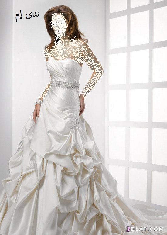 فساتين افراح مميزة ، فساتين زفاف روعة ، فساتين زواج أنيقة