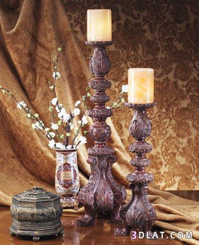 شموع للديكور روعةانتيكات مميزة 2015شموع وتحف بأشكال جذابة2015ديكورات للمنزل
