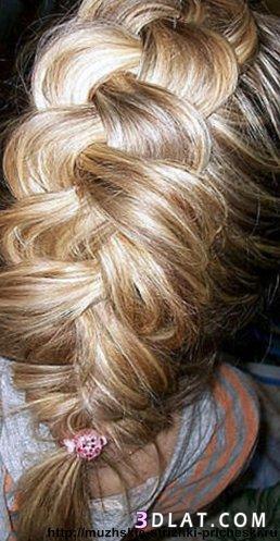 ضفاير شعر مبتكره تسريحات شعر ضفاير بطريقَه  جديده  صور ضفاير شعر جديده