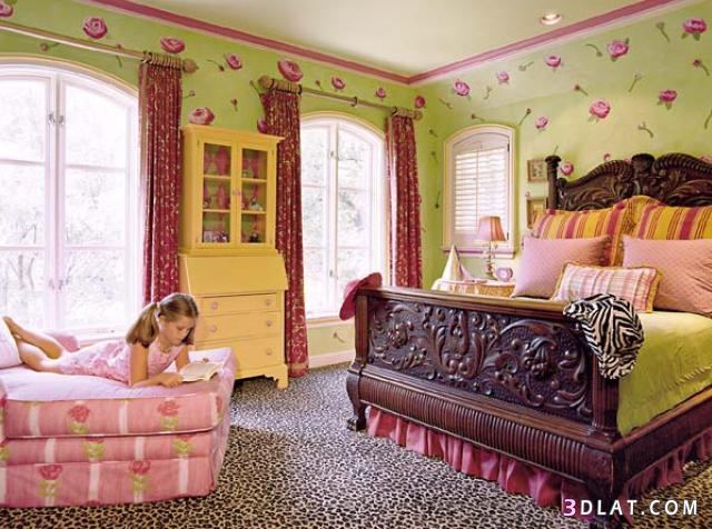 ديكورات غرف بنات فخمة ،غرف بنات جديدة تحفة،ديكورات غرف نوم اطفال