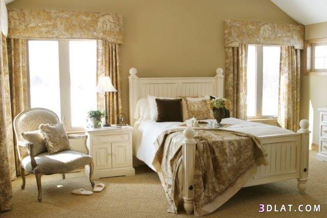 ديكورات غرف نوم فرنسية ، غرف نوم فرنسية ، French Style Bedrooms