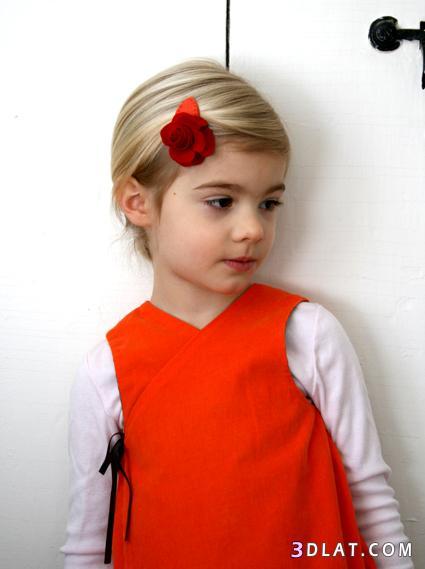 توك شعر للاطفال بطريقة يدوية سهلة,طريقة عمل توكة شعر بالقماش ,شرح توكة شعر بالصو