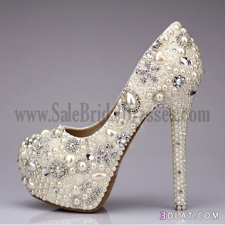 8d38132d6 أحذية عرايس بكل الالوان, أحذية عرايس بيضاء2013, احذية افراح جديدة, احذية  الوان منوعه