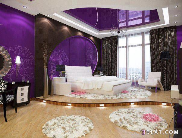 ديكورات غرف نوم روعة 2018،غرف نوم بألوان مميزة،احلى غرف النوم