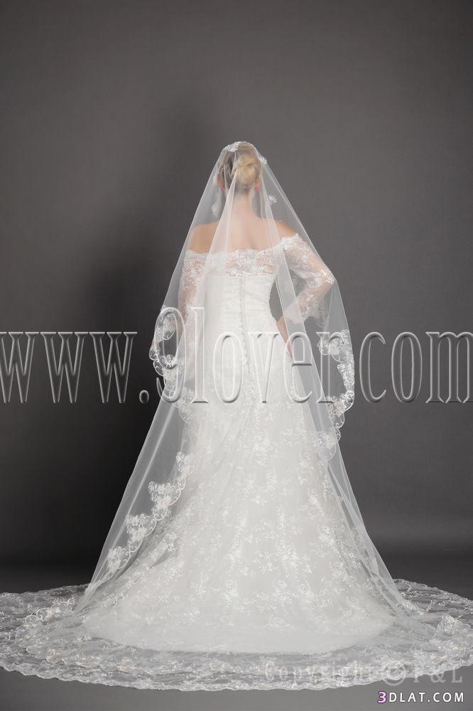 لفات طرح  للعرائس,طرح مدرجات للعرائس,طرح عرائس روعه,اشكال طرح العرائس,طرح عرائس