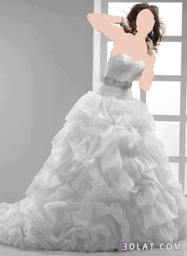 اجمل فساتين الزفاف اخر رقه وشياكه