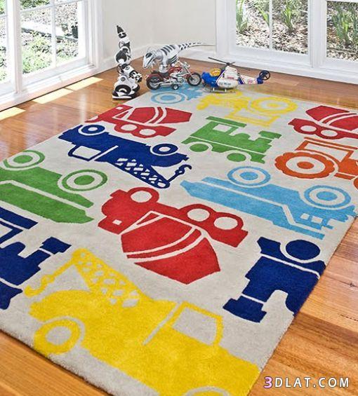 سجاد لغرف نوم الاطفال سجاد مميز لغرف الاولاد   هبه شلبي