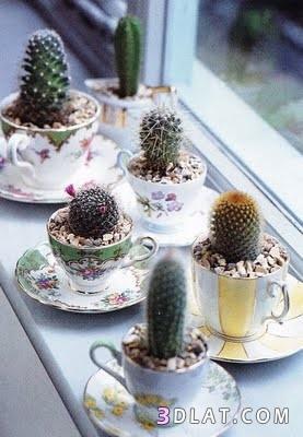 اكسسوارات من فناجين الشاي ، افكار من فناجين الشاي ، استغلال الاشياء القديمة