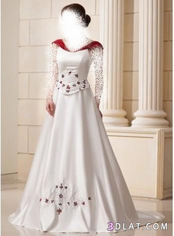 قساتين ليلة العمر ، فساتين زفاف رائعة ، فساتين افراح جديدة