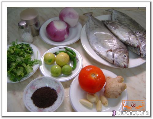 كيفية عمل السمك المحشي 2013 بالصور, خطوات عمل السمك المحشى , طرق تحضير طبق من ال