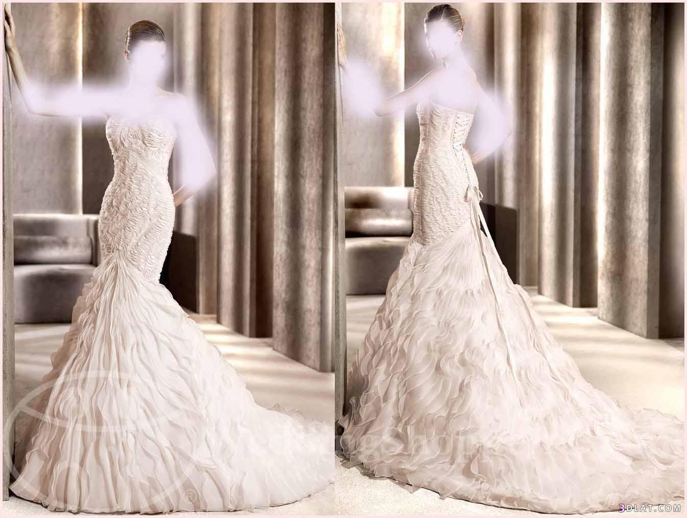 فساتين زفاف روعه فساتين افراح جميله