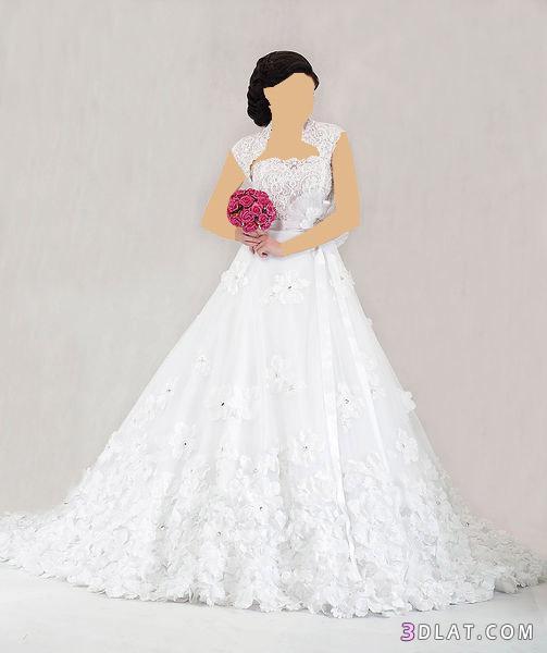 فساتين زفاف فخامه راقيه