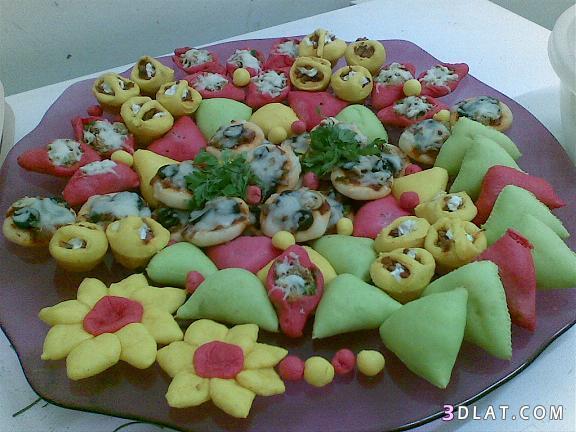 فطائر ملونة للمناسبات ومحببة للاطفال