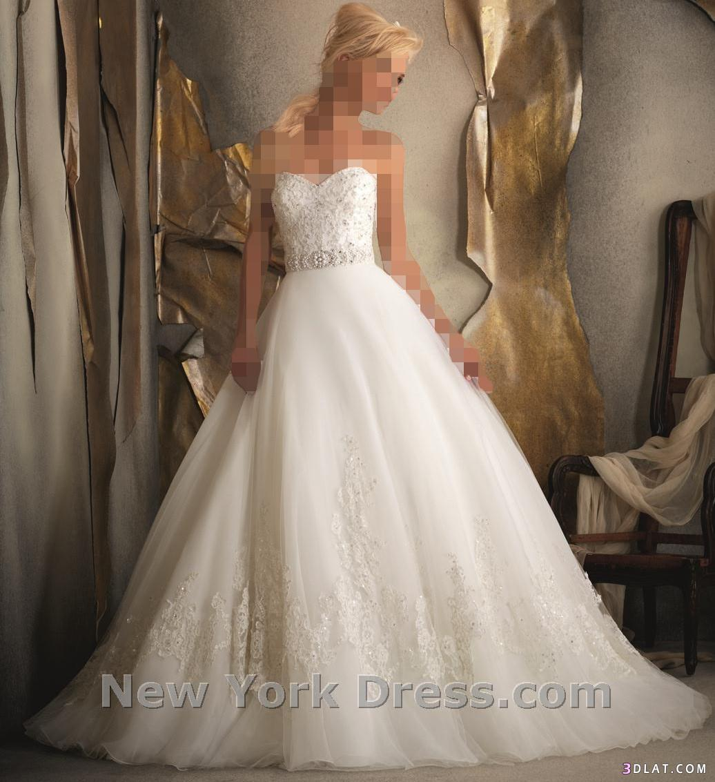 تألقي ف يوم زفافك..بفساتين رقيقة وبسيطة