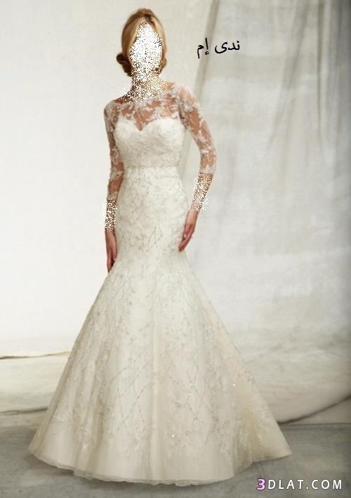 فساتين زفاف ، فساتين افراح ، فستان العروسة بلون الابيض