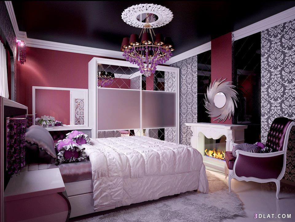 اجمل تصاميم غرف النوم الملونة   τнє τɪмє σf sυиsєτ