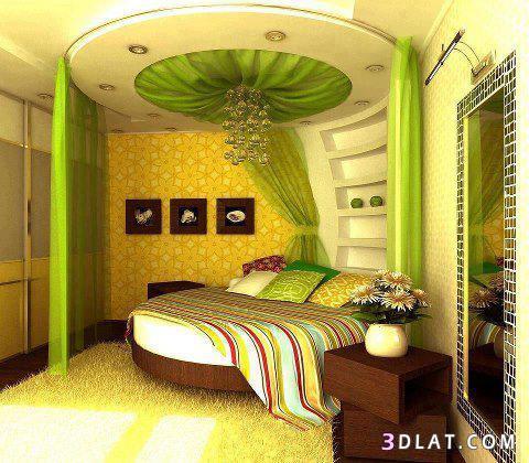 صور اجمل تصميم غرف النوم