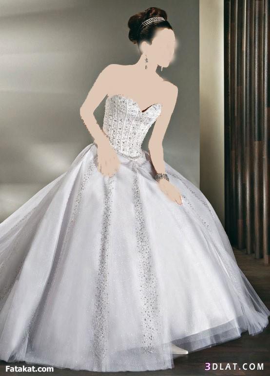 فى يوم زفافك خليكى رقيقة  فساتين زفاف رقيقة جدااا