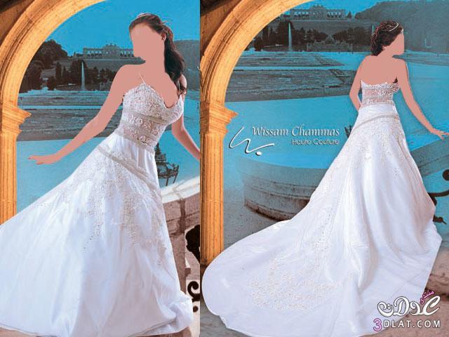 فساتين زفاف لاحلى عروسة