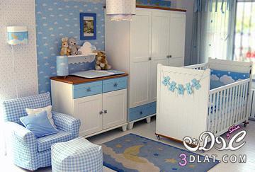 غرف أطفال 2018,تصميمات غرف للمواليد جديدة,ديكورات غرف نوم اطفال