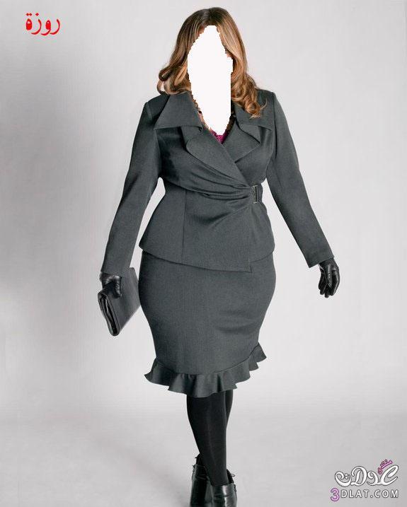 96f4639c8 ملابس شتوية للبدينات,احدث ازياء البدينات الشتائية, ملابس للسمينات ...