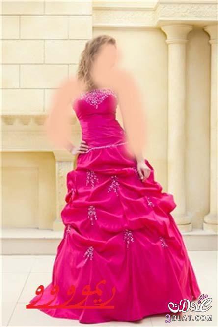 فساتين عرائس خطوبة اجمل فساتين الخطوبه باللون الوردى ودرجاته فساتين خطوبه باللون