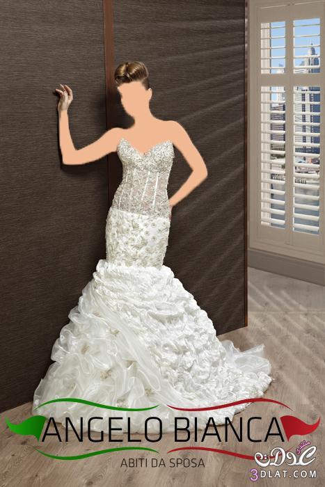 فساتين زفاف رائعة من احدث تصميمات العام
