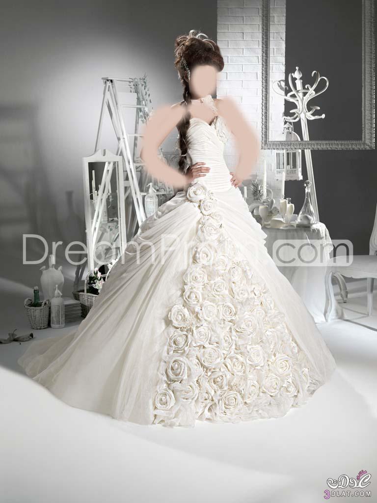 فساتين زواج 2021 اجمل فساتين الزفاف فساتين فرح جديده تهوس