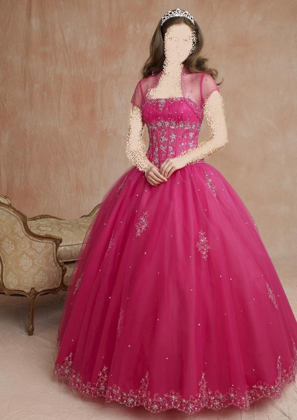 اجمل الفساتين المتفوشه للخطوبة