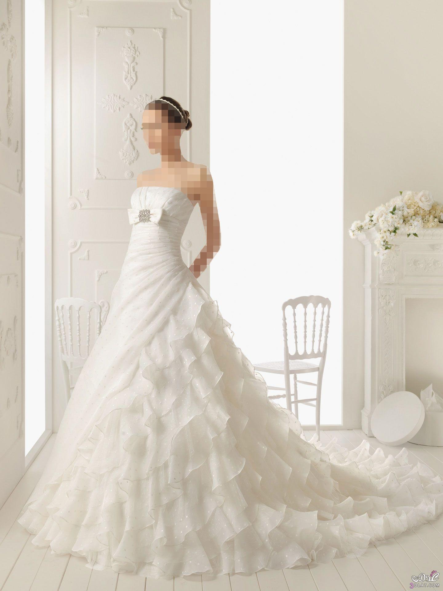 تالقى باجمل فساتين الزفاف .. فساتين زفاف 2021