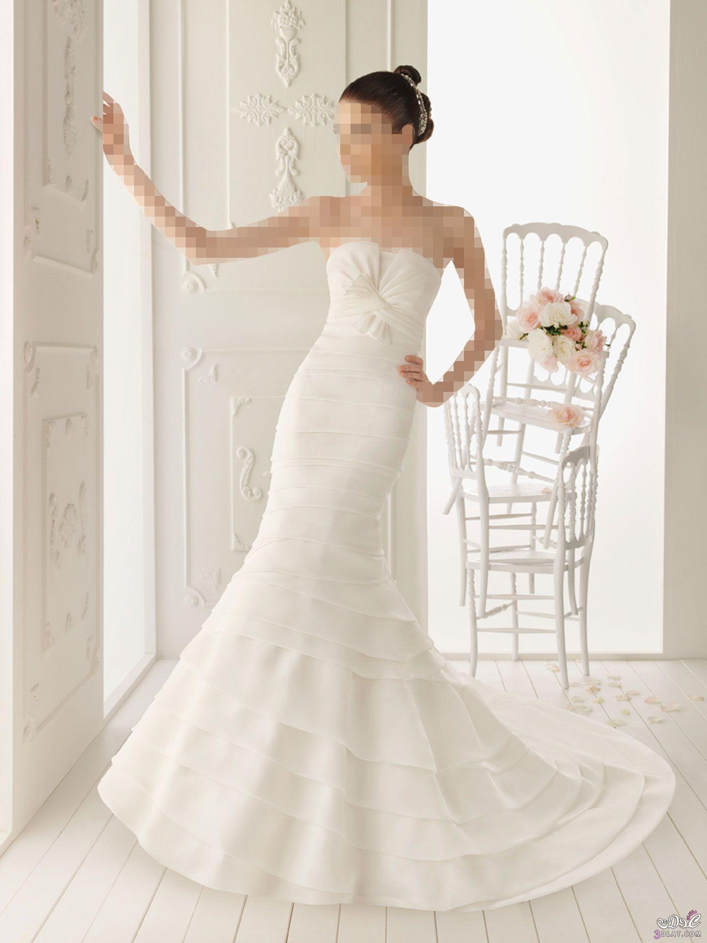 فساتين زفاف جميلة ..اجمل فساتين زفاف 2021 حصرية