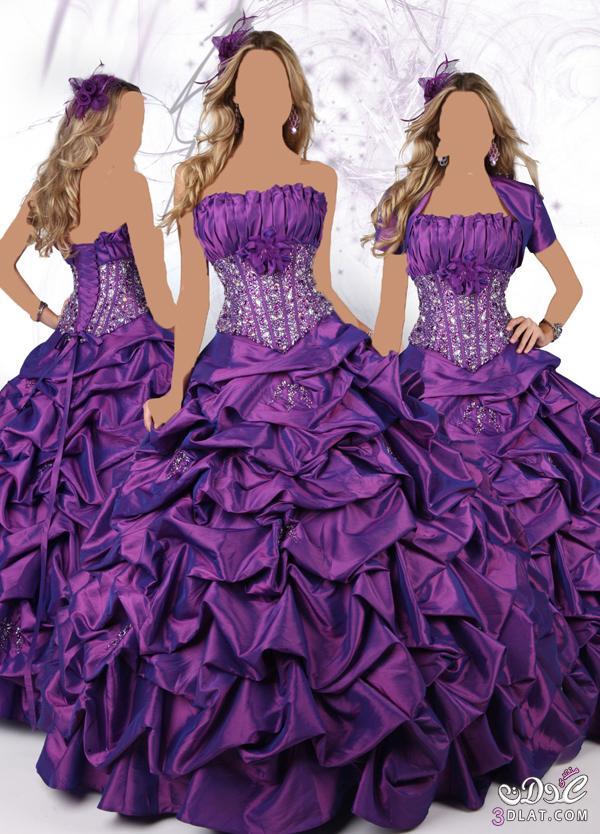 فستان خطوبة اكثر من رائع