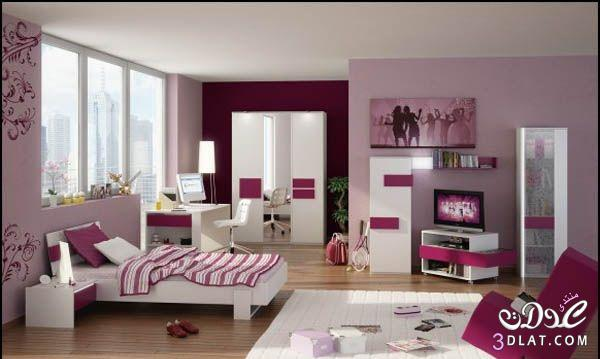 صور غرف نوم للمراهقات ألوانها جنان , غرف نوم للمراهقات ألوانها