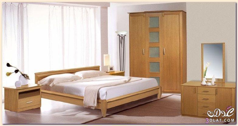 غرف نوم بسيطة و جميلة   alaa ilham