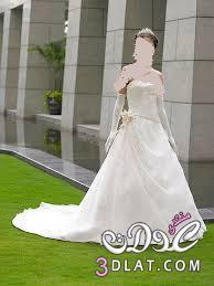 فساتين زفاف باللون الابيض رقيقة فساتين افراح