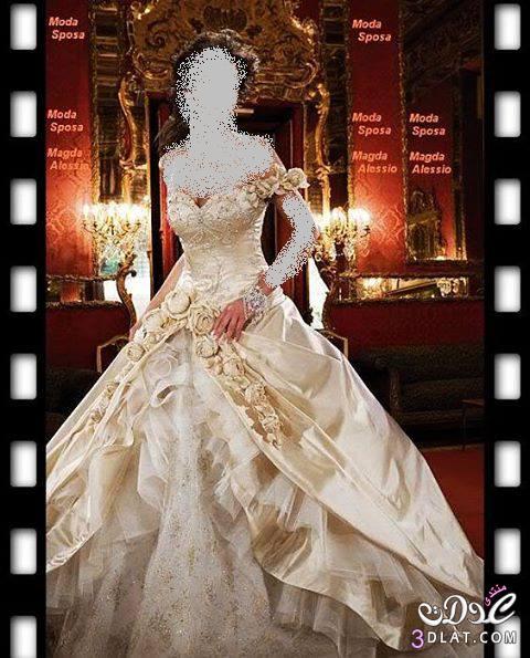 فساتين زفاف 2021 رائعه  جدا