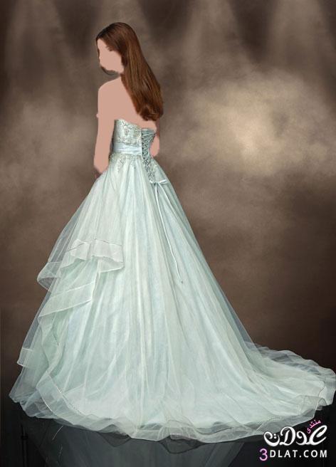 فستان فرح لارق عروسة