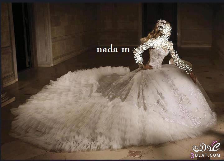 فساتين زفاف جنان فساتين افراح رائعة فساتين زفاف أنيقة