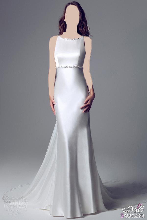 فستان فرح بسيط و ناعم