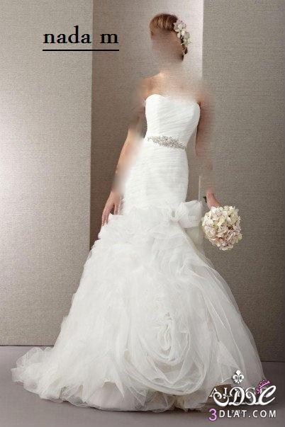 فساتين افراح ناعمة فساتين زفاف رقيقة بس اخر شياكة
