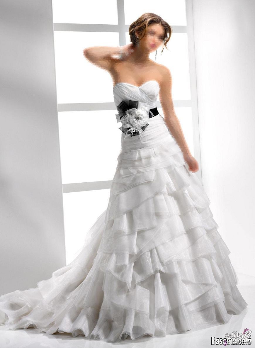 فساتين زفاف جنان اجمل الفساتين للعرائس فساتين زفاف جميلة وانيقة