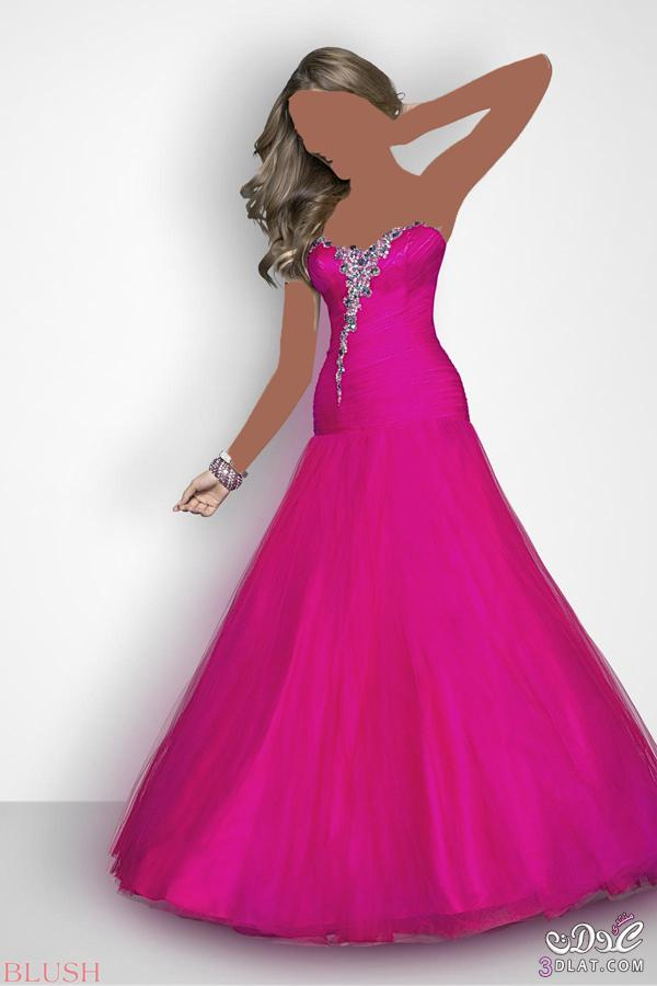 فستان الخطوبة لعروسة العيد