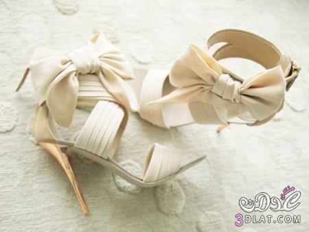 اجمل الاحذية 2014  للعروس 2014.تألقي يا عروسة