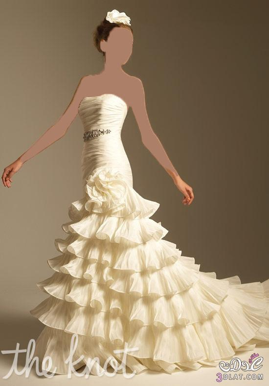 فستان فرح لبنات عرائس الجزائر الملكات