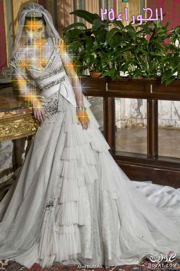 احدث الموديلات لفساتين الزفاف،فساتين زفاف فخمه