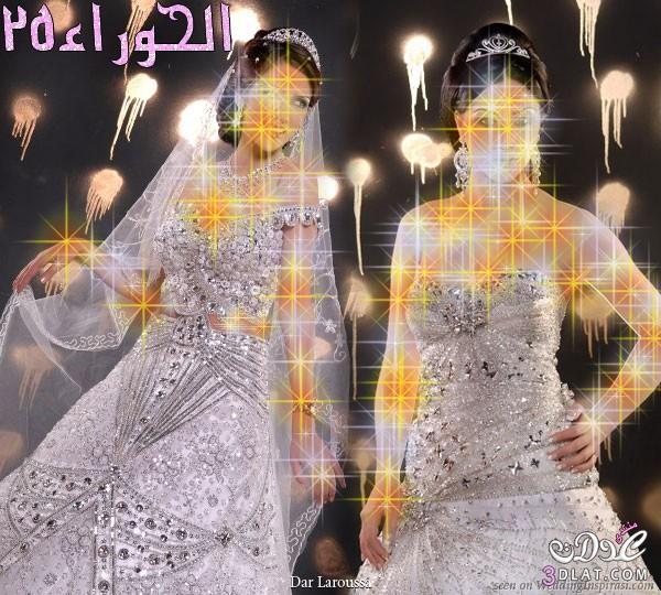 فساتين زفاف على الطراز الهندى،موديلات هنديه لفساتين الزفاف