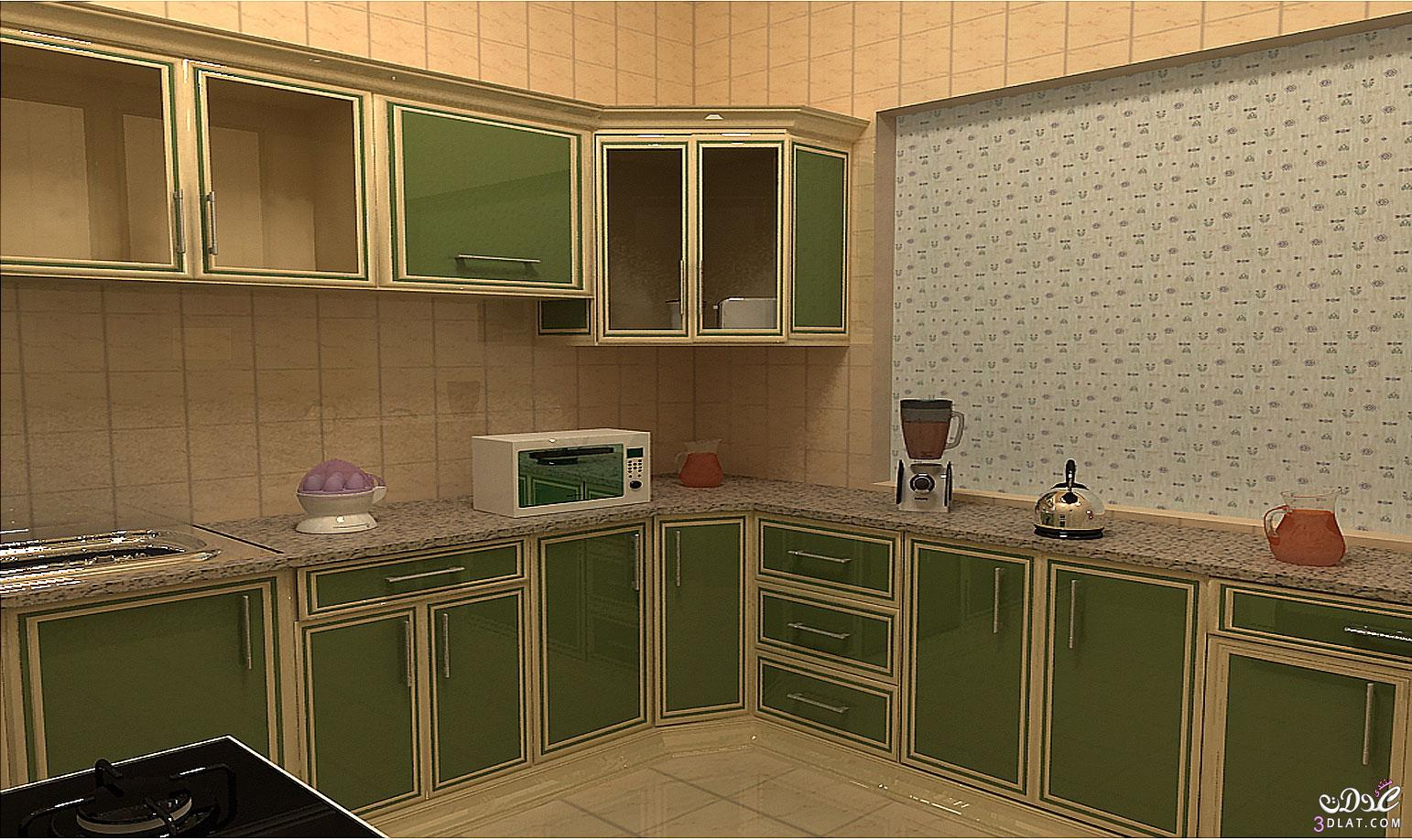 ديكورات مطابخ ناعمة ، مطابخ عصرية مميزة ، تصاميم مطابخ حديثة   روزة